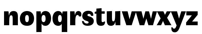 Faune Black Font LOWERCASE