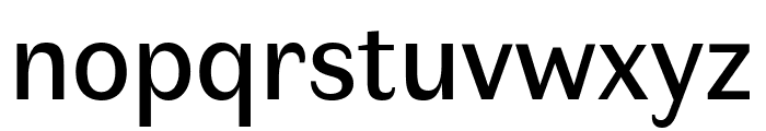 Faune Text Font LOWERCASE