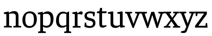Faustina VF Beta Regular Font LOWERCASE