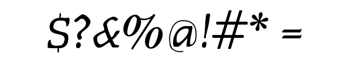 Faustitalic Font OTHER CHARS