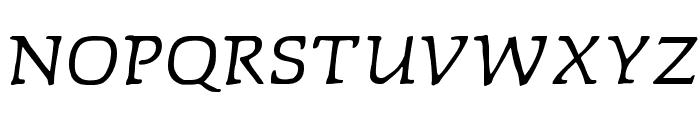 Faustitalic Font UPPERCASE