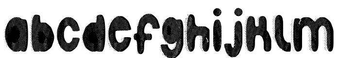 Faust(press) Font LOWERCASE