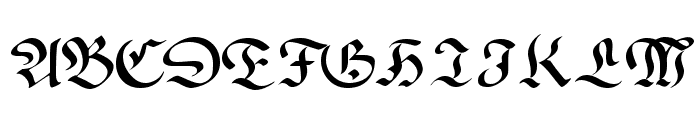 Faustus Font UPPERCASE