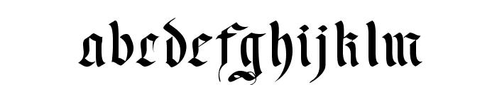 Faustus Font LOWERCASE