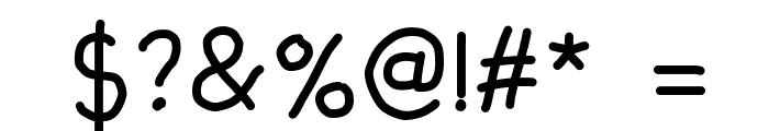 fandaeg Font OTHER CHARS