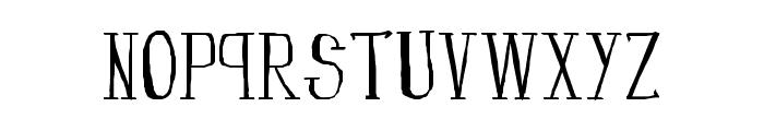 fanfarone-bold Font LOWERCASE