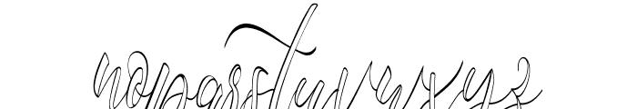 fantasy hollow Font LOWERCASE