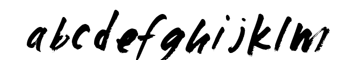 fast max Font LOWERCASE