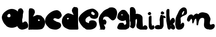 fatty fatty Font LOWERCASE