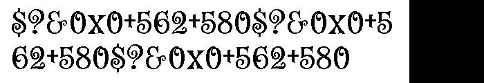 Fantini Pro Font OTHER CHARS