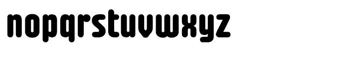 Fab Bold Font LOWERCASE
