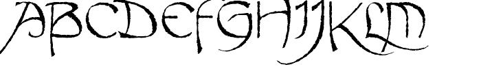 Fable Antique Font UPPERCASE