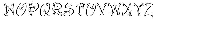 Faithful Fly Font UPPERCASE