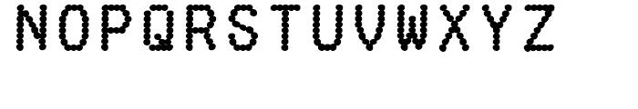 Fake Receipt Regular Font LOWERCASE