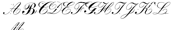 False idol Italic Font UPPERCASE