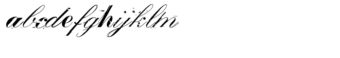 False idol Italic Font LOWERCASE