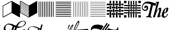 Fancy Stuff Regular Font UPPERCASE