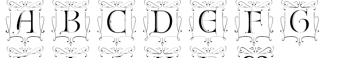 Fantasy Caps2 Font UPPERCASE