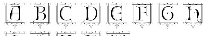 Fantasy Caps2 Font LOWERCASE