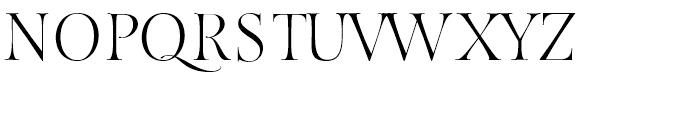 Fantasy Std Font UPPERCASE