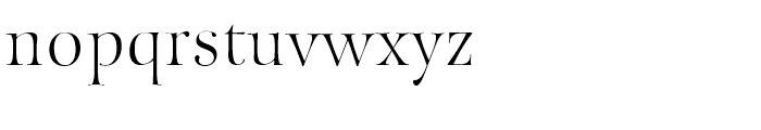Fantasy Std Font LOWERCASE