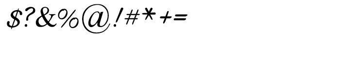 Fantazia Regular Font OTHER CHARS