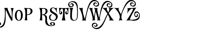 Fantini Alternates Two Font UPPERCASE