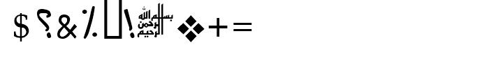 Farah Regular Font OTHER CHARS
