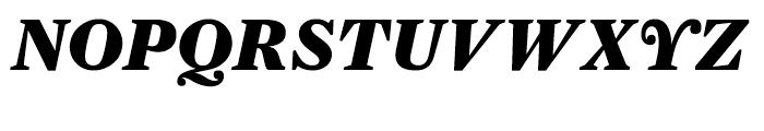Farnham Display Black Italic Font UPPERCASE