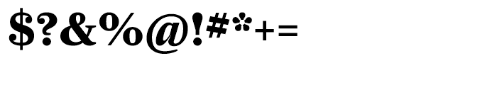 Farnham Display Bold Font OTHER CHARS