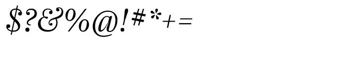 Farnham Display Light Italic Font OTHER CHARS