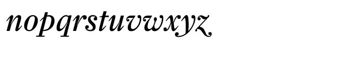 Farnham Display Regular Italic Swash Font LOWERCASE