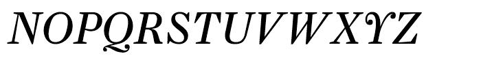 Farnham Display Regular Italic Font UPPERCASE