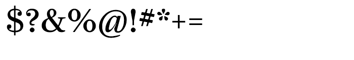 Farnham Display Regular Font OTHER CHARS