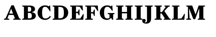 Farnham Text Bold Font UPPERCASE