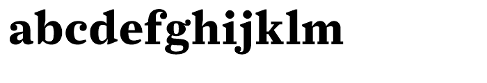 Farnham Text Bold Font LOWERCASE