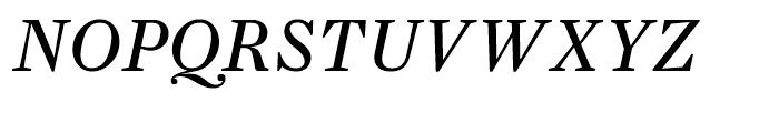 Farnham Text Regular Italic Font UPPERCASE