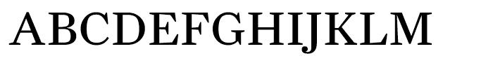 Farnham Text Regular Font UPPERCASE