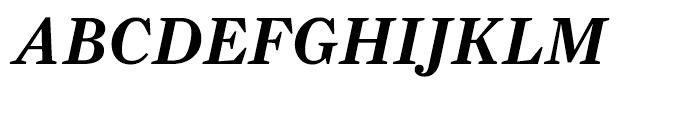 Farnham Text Semibold Italic Font UPPERCASE