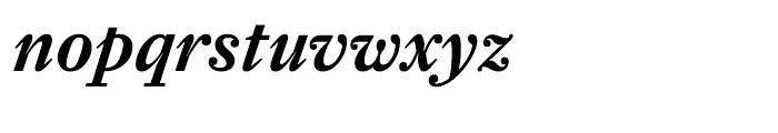 Farnham Text Semibold Italic Font LOWERCASE