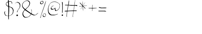 Fartitudo Regular Font OTHER CHARS