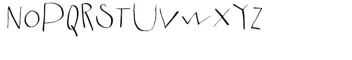 Fartitudo Regular Font UPPERCASE