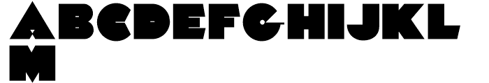 Fast Freddy NF Regular Font UPPERCASE
