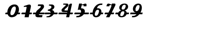 Fat Font Grotesk Streamline Italic Font OTHER CHARS