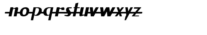 Fat Font Grotesk Streamline Italic Font LOWERCASE