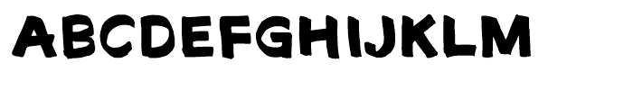 Fat Sally Font UPPERCASE