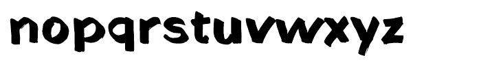 Fat Sally Font LOWERCASE