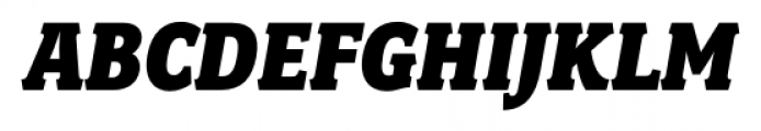 Fairplex Narrow Black Italic Font UPPERCASE