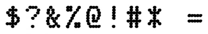 Fake Receipt Regular Font OTHER CHARS