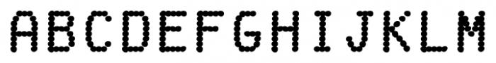 Fake Receipt Regular Font UPPERCASE